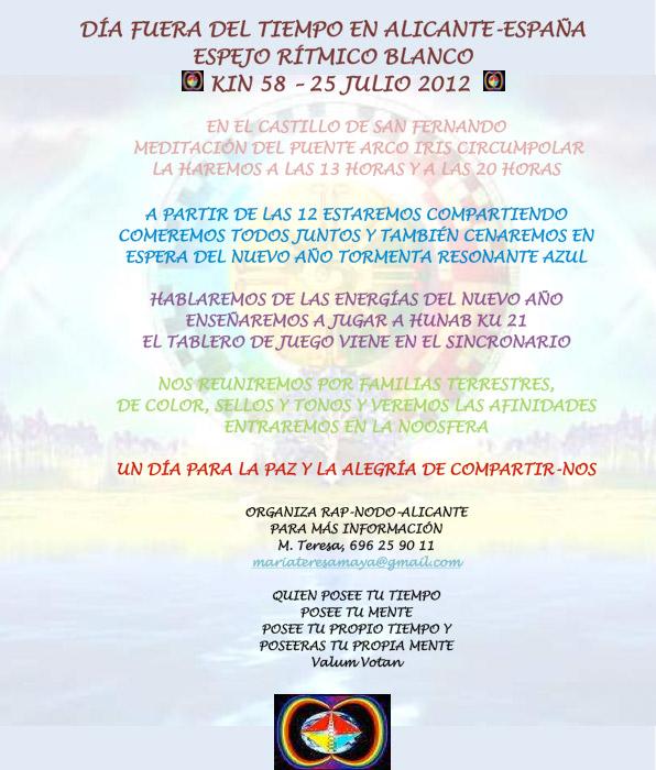 [Event flier: Contact M.Teresa, 696 25 90 11 - mariateresamaya@gmail.com]