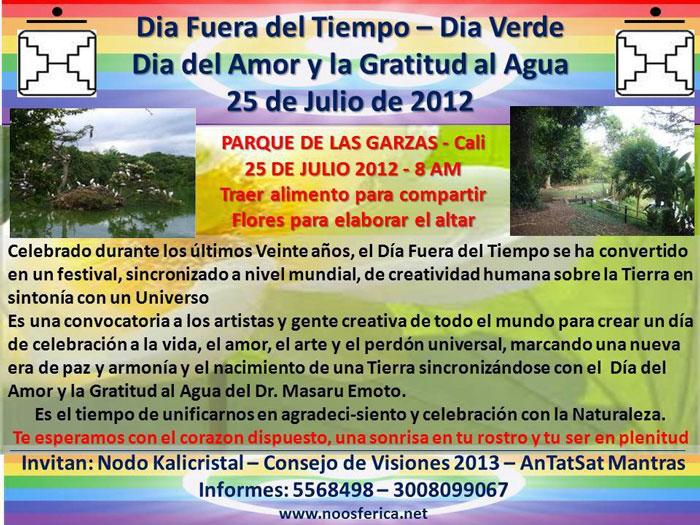 [Event Flier: Invitan: Nodo Kalicristal - Consejo de Visiones 2013 - AnTatSat Mantras - Informes: 5568498 - 3008099067 - www.noospherica.net]