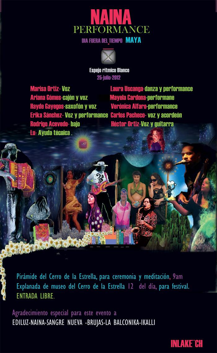 [Event flier: MUSEO DEL FUEGO NUEVO CERRO DE LA ESTRELLA EN IZTAPALAPA - Contact 5579-3476 ediluz@att.net.mx]