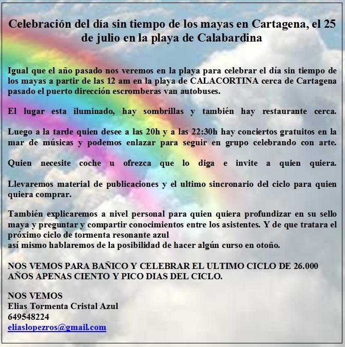 [Event flier - Contact Elias Tormenta Cristal Azul at 649548224 - eliaslopezros@gmail.com]