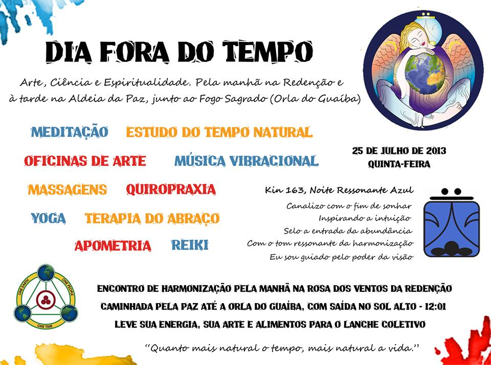 [Day out of Time Event Flier - Brazil]