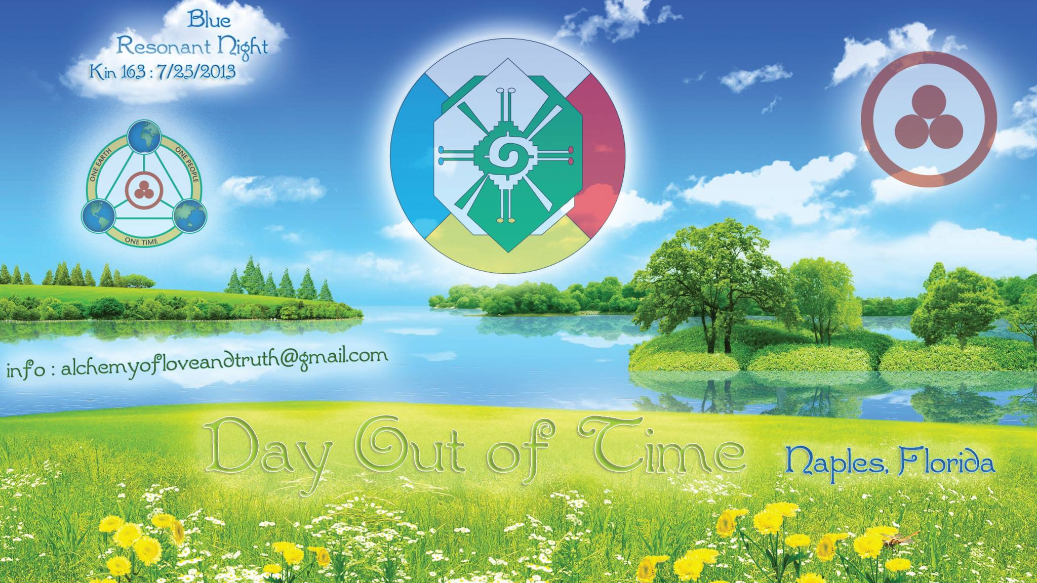 [Day out of Time 2013 event flier - USA, Naples, Florida]