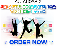 All Aboard! Galactic Jumpsuits for Timeship Earth 2013 Order Now
