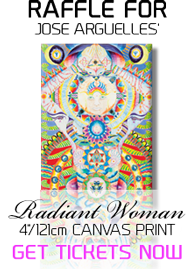 Raffle for Jose Arguelles' Radiant Woman 4'/121cm Canvas Print - Get Tickets Now!