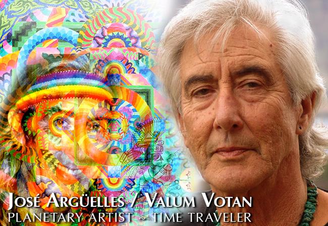 Jose Arguelles/Valum Votan - Planetary Artist & Time Traveler